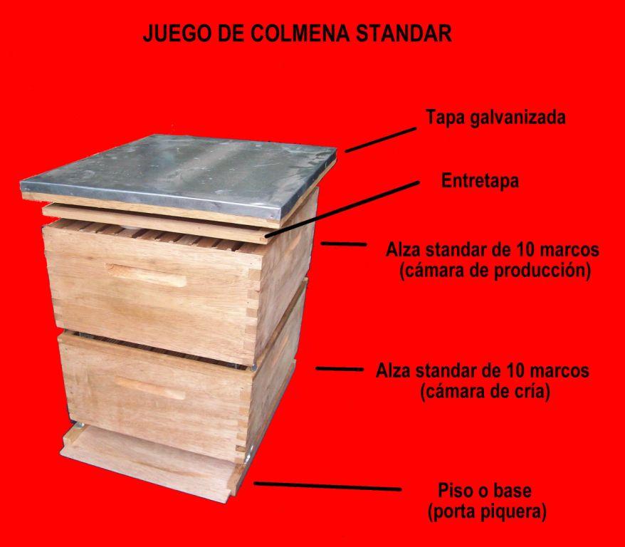 colmenas -materiales - hierbamielperu